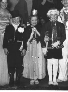 Kinderprinzenpaar 1953Heidi Lukas und Volker Thönges