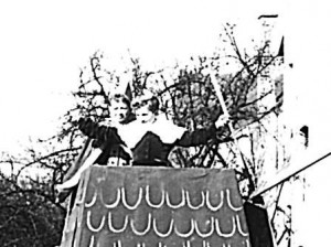 Kinderprinzenpaar 1957Rolf Gilbert und Ursula Streb