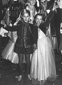 Kinderprinzenpaar 1960Uwe Hering u. Heidi Hamann