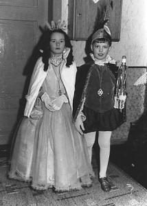 Kinderprinzenpaar 1963Achim Kappas u. Sonja Schmitt