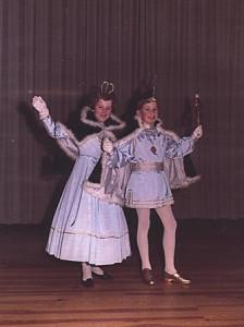 Kinderprinzenpaar 1967Hans-Jürgen Dörr und Renate Will