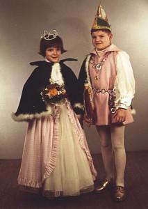 Kinderprinzenpaar 1968Eckart Stowasser u. Sonja Bender