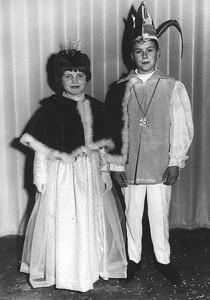 Kinderprinzenpaar 1969Harald Dreut u. Betina Bopp