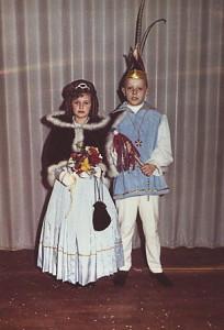 Kinderprinzenpaar 1970:Bernd Schmidt u. Ingrid Will