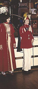 Kinderprinzenpaar 1977Eckhard Dworschak u. Anita Bender