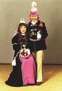 Kinderprinzenpaar 1978Jörg Reuhl u. Alexandra Kopf