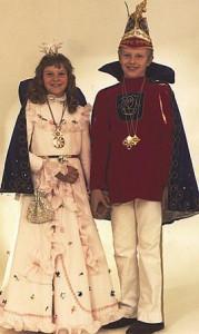 Kinderprinzenpaar 1979Dirk Gumpert u. Silke Gilbert