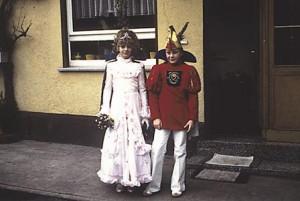 Kinderprinzenpaar 1980Klaus Peter Dörsam u. Simone Wetz