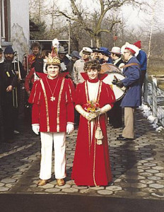 Kinderprinzenpaar 1981Alexander Hess u. Britta Hachenburger