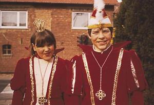 Kinderprinzenpaar 1983Björn Künstler u. Bianca Boller