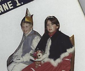 Kinderprinzenpaar 1985Thorsten Wettner u. Yvonne Glaum