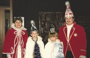 Kinderprinzenpaar 1987Dirk Boller u. Tanja Matzke