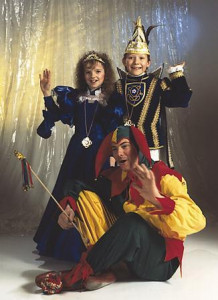 Kinderprinzenpaar 1990Michael Kesberg u. Sabine Seibel