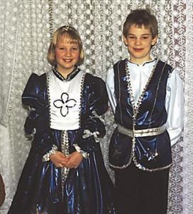 Kinderprinzenpaar 1993Stefan Kopf u. Marina Mattheiß