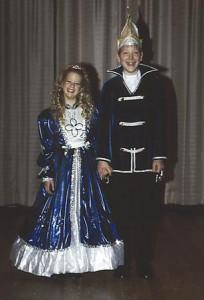 Kinderprinzenpaar 1999Felix Burgard u. Tamara Dietz