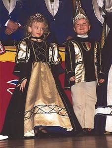 Kinderprinzenpaar 2002Sebastian Dietz und Jaqueline Engelmann