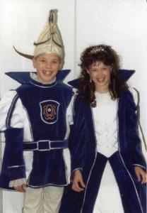 Kinderprinzenpaar 2003Leo Görlach und Lara Dreut
