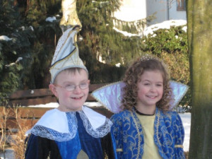 Kinderprinzenpaar 2009Fabian Frisch u. Lea Raacke
