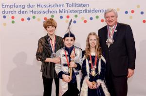Kinderprinzenpaar 2017Stella Marie Fischbach und Max Scherer
