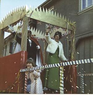 1974Gert Müller und Gisela Wetz