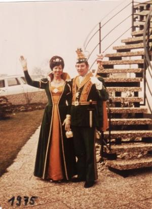 1975Werner Kopf und Ursula Fröhlich