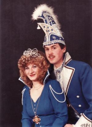 1981Harald Dreut und Rita Wettner